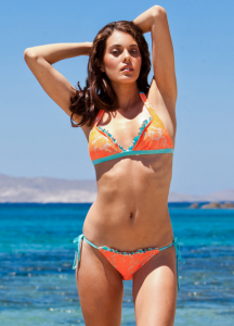 Paolita Annabel Lee Neon Orange Bikini