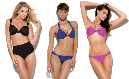 A Che & Natori swimwear for larger cups