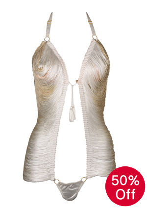 Made by Niki Ivory String body on sale