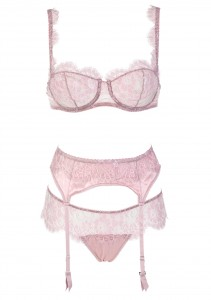 ID Sarrieri Angelina Pink Lace Set
