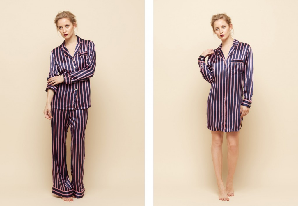 olivia von hall aw15 silk loungewear