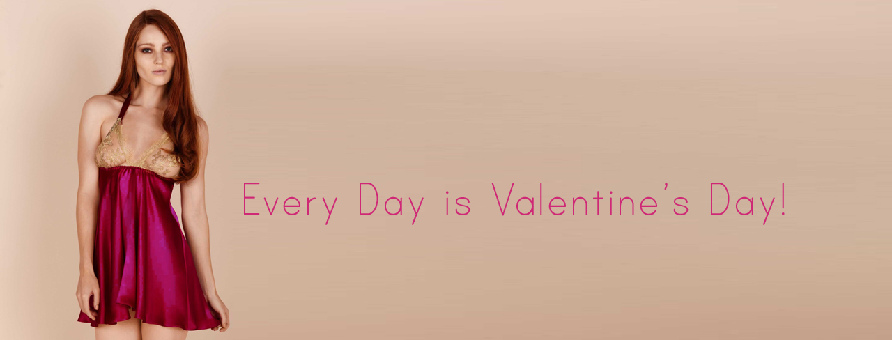 Valentine's Day Romantic Lingerie at Dolci Follie