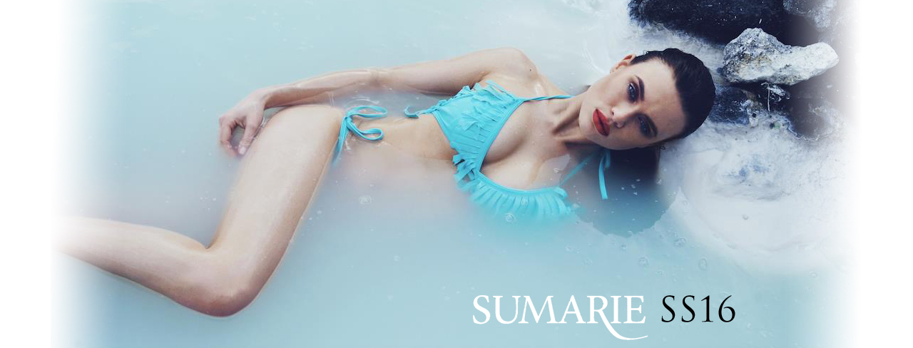 SS16 luxury swimwear by Sumarie